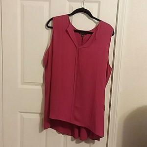2x pink blouse